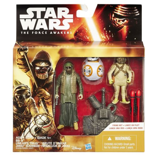 Star Wars The Force Awakens BB-8 Unkar's Thug Jakku Scavenger